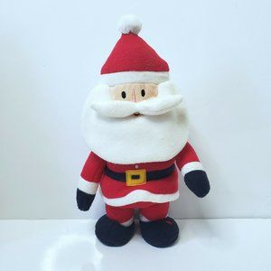Walking/Singing Plush Santa Claus Holiday Decor